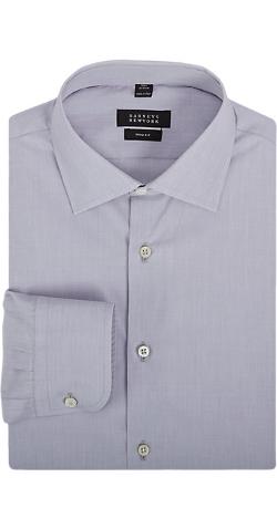 Barneys New York  - End-On-End Cotton Dress Shirt