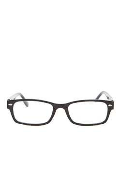 Betsey Johnson - Small Rectangle Wayfarer Readers Eyeglasses