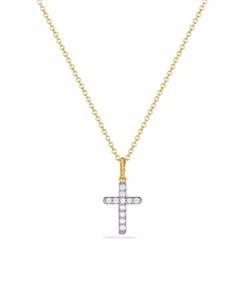 David Yurman  - Cable Collectibles Cross Necklace