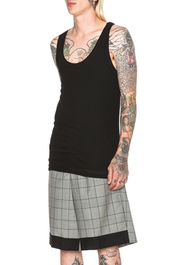 Kris Van Assche - Double Layer Knit Tank Top