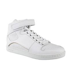 Dolce & Gabbana - Hi Top Leather Sneakers