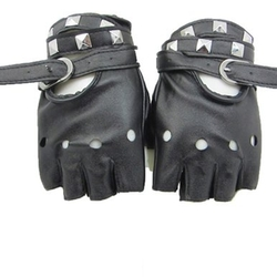 Rivet Fingerless - Dress Driving Gloves