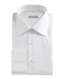 Stefano Ricci - Textured Tonal-Stripe Dress Shirt