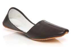 Unze London - Leather Khussa Shoes