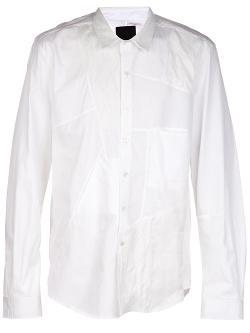 Martin Martin  - Patchwork Dress Shirt