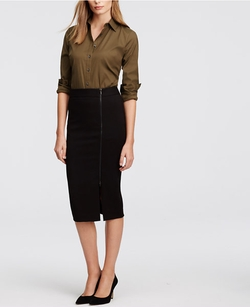 Ann Taylor - Long Pencil Skirt