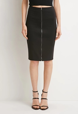 Forever 21 - Zipped Pencil Skirt