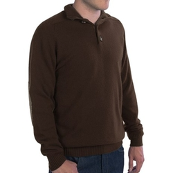 Johnstons Of Elgin - Button Turtleneck Sweater