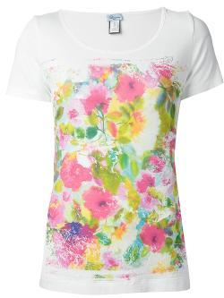 Blumarine  - Floral T-Shirt