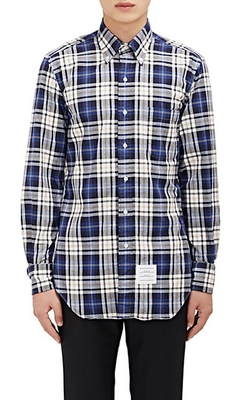 Thom Browne - Plaid Twill Shirt