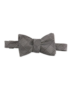 Edward Armah	 - Glitter Glen Plaid Bow Tie
