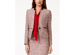 Kasper  - One-Button Tweed Jacket