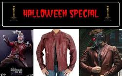 High Quality Synthetic Leather - Red Super Hot Chris Pratt Guardians of the Galaxy Jacket.