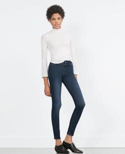Zara - High-Waist Jeans