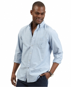 Nautica - Solid Oxford Shirt