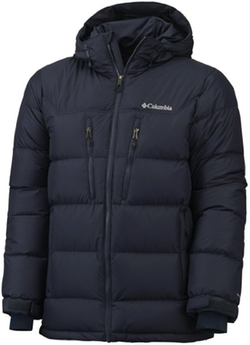 Columbia - Alaskan II Duvet Jacket Gentlemen Down, Hooded Blue