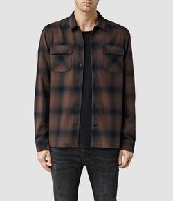 AllSaints -  Sherwood Shirt