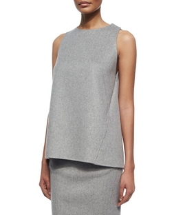 Carolina Herrera - Cashmere Sleeveless Top