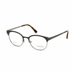 Tom Ford  - Light Titanium Round Eyeglasses