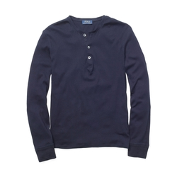 Polo Ralph Lauren - Ribbed Cotton Henley Shirt