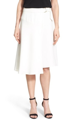 Vince Camuto - Belted Wrap Skirt