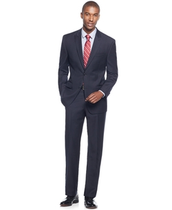 Michael Kors  - Ministripe Peak-Lapel Classic-Fit Suit