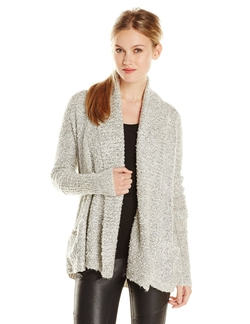 BCBGeneration - Two-Tone Boucle-Knit Cardigan