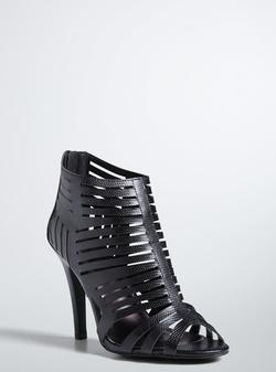 Torrid - Cutout Strap Bootie Heels