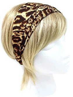 Hail Mary Gifts  - Leopard Print Strip Headband