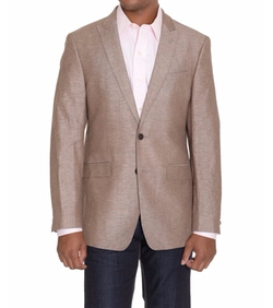 Calvin Klein - Peak Lapel Heather Blazer