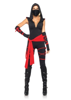 Leg Avenue - Deadly Ninja Catsuit Costume