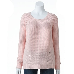 Sonoma Life + Style  - Ribbed Sweater