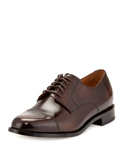 Cole Haan - Air Carter Leather Lace-Up Oxford Shoes