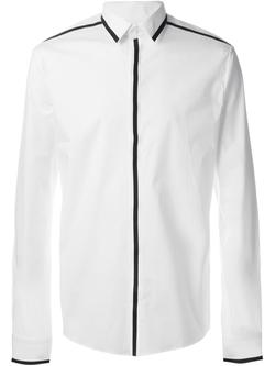 Les Hommes   - Trim Detail Button Down Shirt