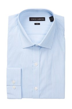 Vince Camuto  - Slim Fit Striped Shirt