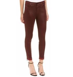 J Brand - Alana Coated Skinny Crop Pants