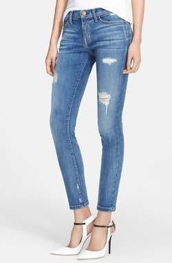 Current/Elliott - The Stiletto Destroyed Skinny Jeans