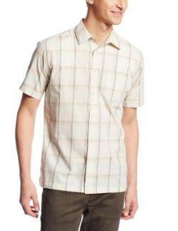 Van Heusen - Short Sleeve Plaid Button Down Shirt
