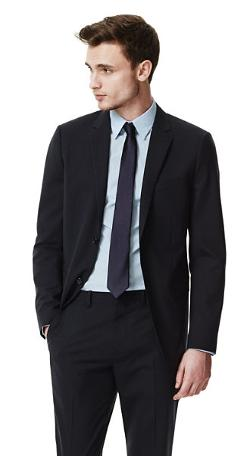THEORY - Wellar HC Suit Jacket in New Tailor Wool Bistretch
