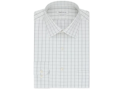 Van Heusen  - Night Black Open Check Dress Shirt