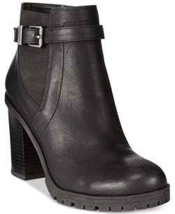 Circus By Sam Edelman - Deacon Stacked Heel Ankle Booties