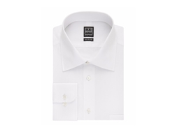 Ike Behar  - Crosby Solid with Pocket Classic Fit Dress Shirt