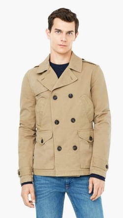 Mango - Cotton-Blend Trench Coat