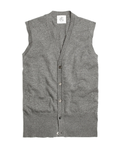 Brooks Brothers - Cashmere Button-Front Vest