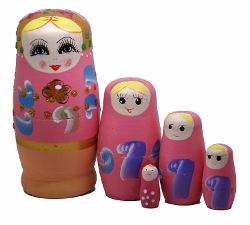LittleTiger - Nesting Dolls Matryoshka Madness Russian Doll