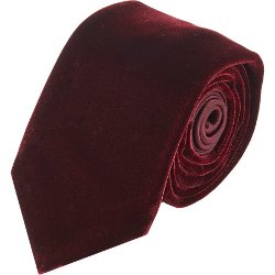 Penrose London  - Velvet & Satin Tie