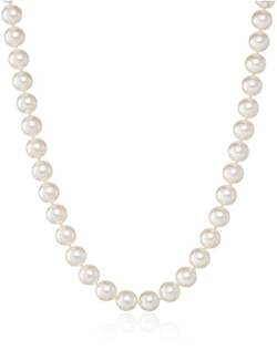 TARA Pearls  - Natural Color Akoya White Pearl Necklace