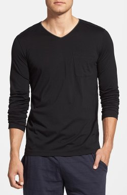 Daniel Buchler - Long Sleeve V-Neck T-Shirt