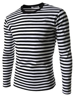 The Lees - Slim Fit Basic Stripe Pattern Shirt