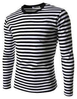 The Lees - Slim Fit Basic Stripe Pattern Shirt